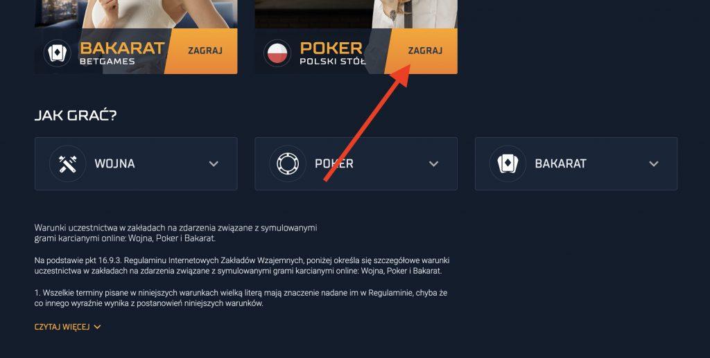 Granie w pokera po polsku